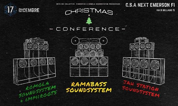 Sab 17 dicembre – Christmas Conference benefit WombatRadio