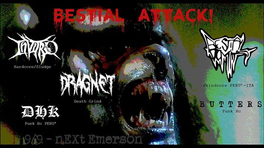 Sab 9 settembre – Bestial Attack!