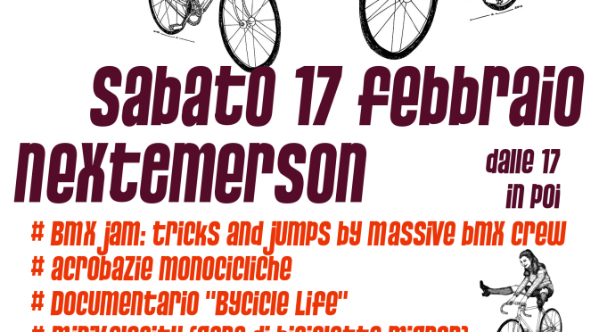 Sab 17 febbraio – Saturday Bike Fever