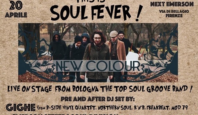 Sabato 20 Aprile – This Is Soul Fever !