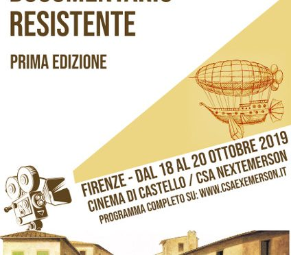 Festival del Cinema Documentario Resistente 2019